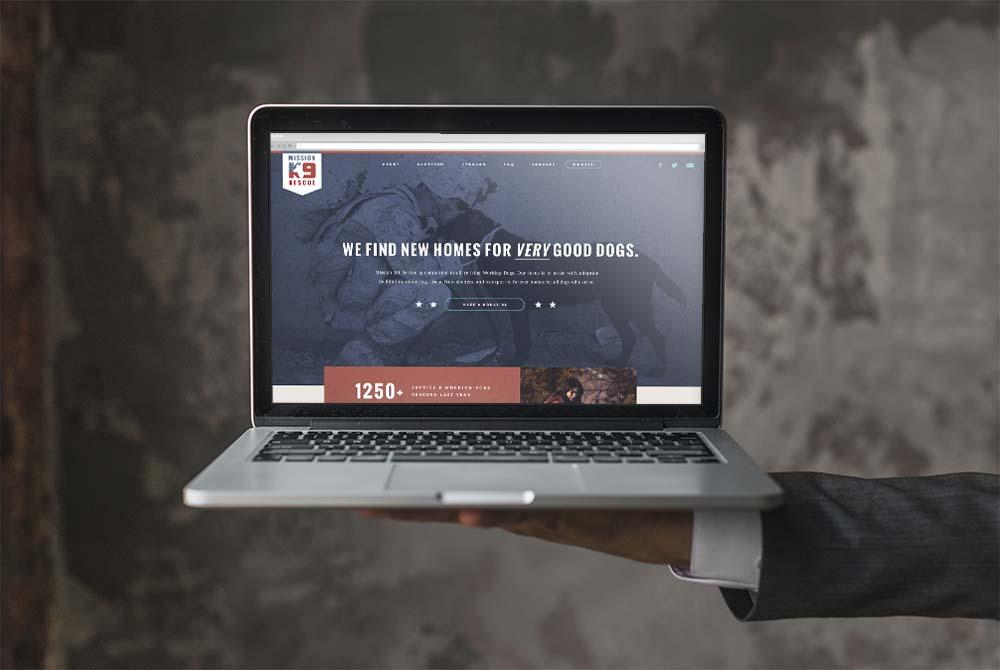 K9 Rescue Website
