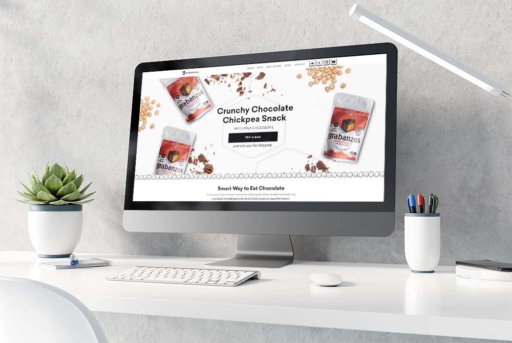 Web Design Antithesis Foods