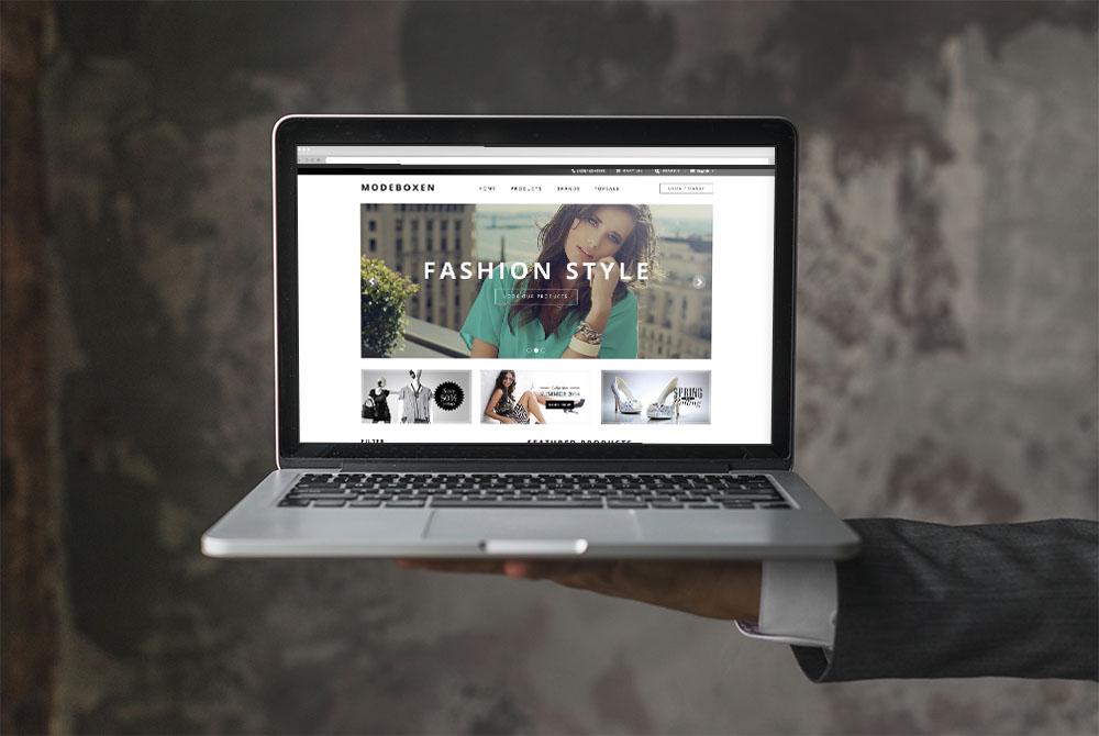 Web Design for Fashion Clothing