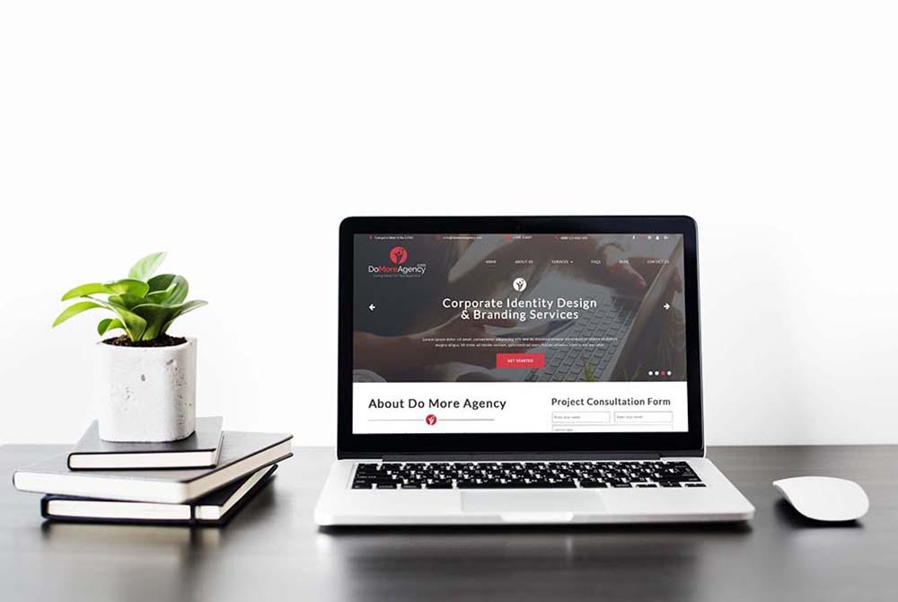 Do More Agency Website