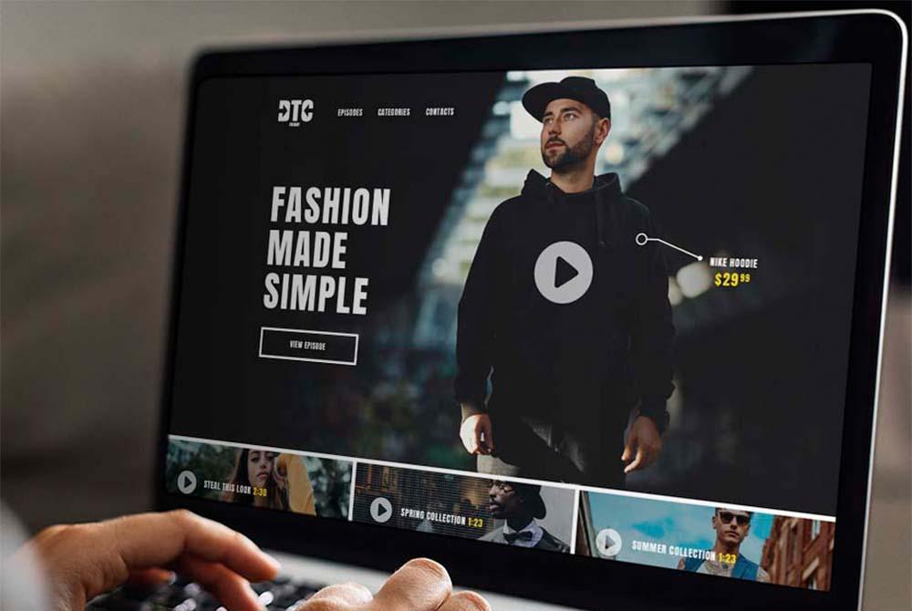 Website Design for Fashion Company