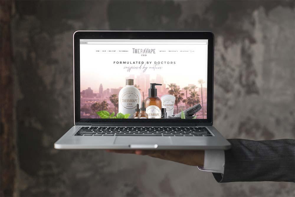 Website Design for Vape Company